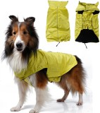 Magideal Raincoat for Dog (Yellow)
