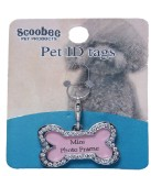 Scoobee Bow for Dog, Cat (silver)