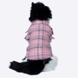 Petriot Shirt for Cat (Baby Pink, Black)
