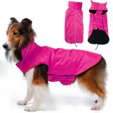Magideal Raincoat for Dog (Red)