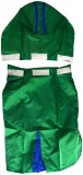 Pawzone Raincoat for Dog (Green)