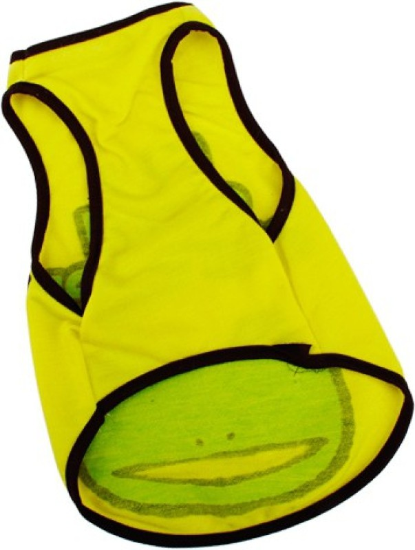 Magideal T-shirt for Dog(Yellow)