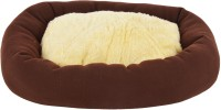 Fluffy FPWFUBF1 S Pet Bed(Brown, Beige)