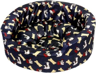 Pet Club51 PC235 L Pet Bed(Multicolor)