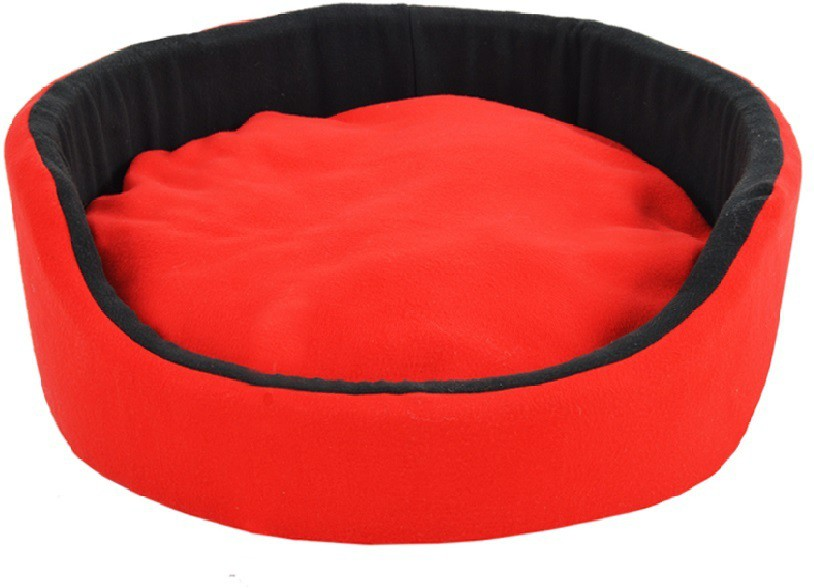 View Fluffy FPWFRBM2 M Pet Bed(Black, Red) Furniture (Fluffy)