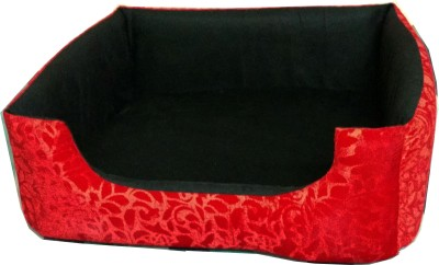 Petshop7 b000005 S Pet Bed(Red, Black)
