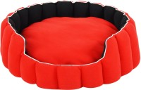 Fluffy FPWPBW12C L Pet Bed(Red, Black)