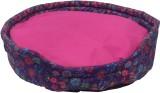 Snug Hug Pink S Pet Bed (Multicolor)