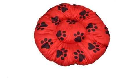 Bow! Wow!! ROUNDBEDLALREDMED M Pet Bed