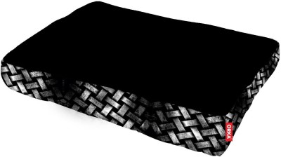 ORKA Printed Pet Bed with Beans L Pet Bed(Multicolor)