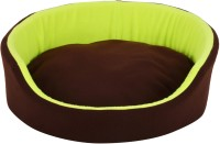 Fluffy FPWFRBXL1 XL Pet Bed(Brown, Green)
