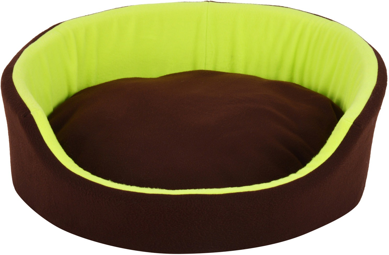 View Fluffy FPWFRBM1 M Pet Bed(Brown, Green) Furniture (Fluffy)