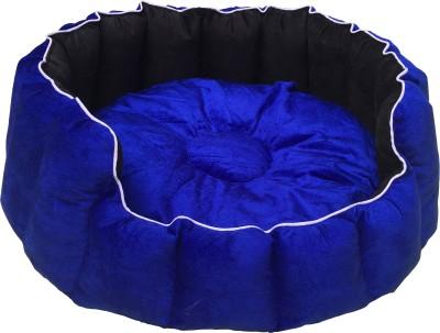 slatters be royal store CBB136 S Pet Bed(Blue, Black)