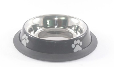 Clobber Round Stainless Steel Pet Bowl