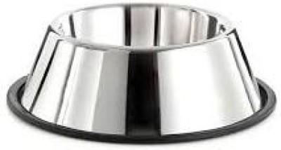 Kavishcreation Round Steel Pet Bowl