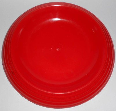 ZakTag Colourful Bowl Base for Dog & other pets food Round Plastic Pet Bowl