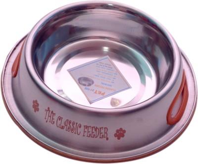 PETHUB Medium food bowl Round Stainless Steel Pet Bowl