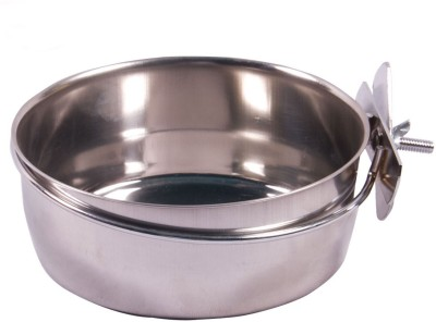 DogSpot Round Stainless Steel Pet Bowl