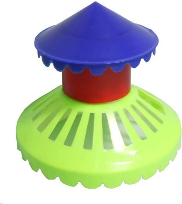 ZakTag Round Plastic Pet Bowl