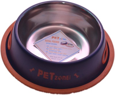 PETHUB Small food bowl Round Stainless Steel Pet Bowl