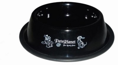 Petsplanet Round Stainless Steel Pet Bowl