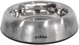 Petto Round Stainless Steel Pet Bowl (1 ...