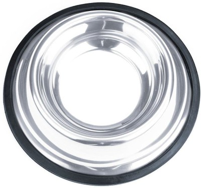 PetsFriendly Round Stainless Steel Pet Bowl