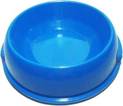 Agnpetspot. agnpetspot. dog feeding bowl round Plastic, Nylon Pet Bowl(1 L Blue)