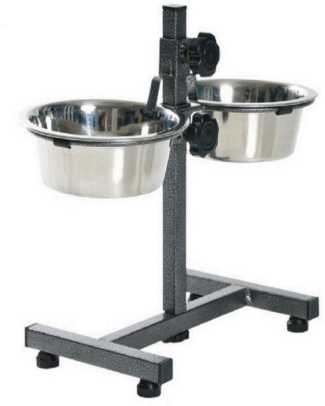 Pet Club51 Round Stainless Steel Pet Bowl(900X2 ml Steel)