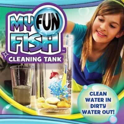 IBS Amazing My Fish Cleaning Tank Aquarium Water Cleaner Rectangular Plastic Pet Bottle