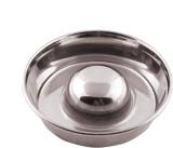 Dog Spot Slow Feeding Bowl Round Alumini...