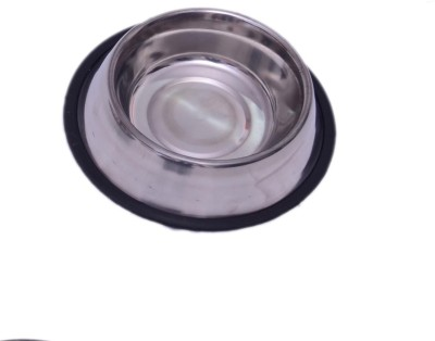 Scoobee Round Steel Pet Bowl(0.7 L Steel)