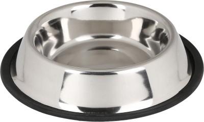 TommyChew Basic Make Round Steel Pet Bowl