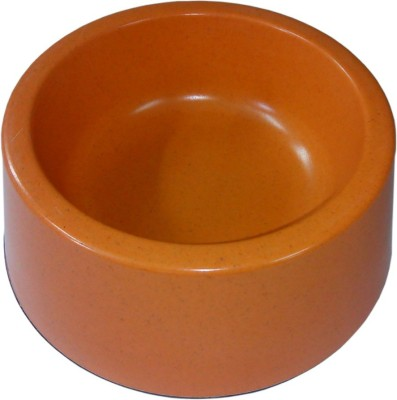 All4pets Round Bamboo Pet Bowl