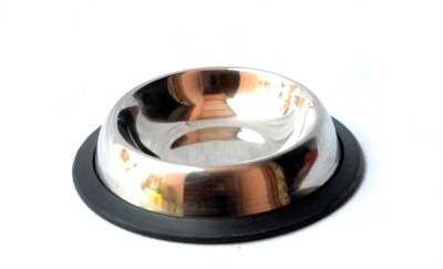 PETHUB BOWL EXTRA SMALL EMBOSSED Round Stainless Steel Pet Bowl