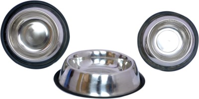Shymoon Round Steel Pet Bowl