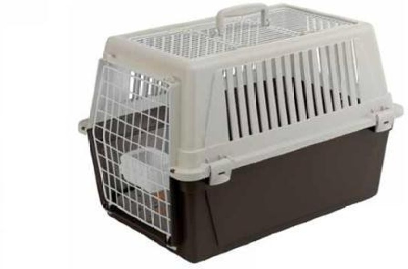 Ferplast Atlas 30 Open Small White, Black Airline Pet Carrier(Suitable For Cat, Dog)