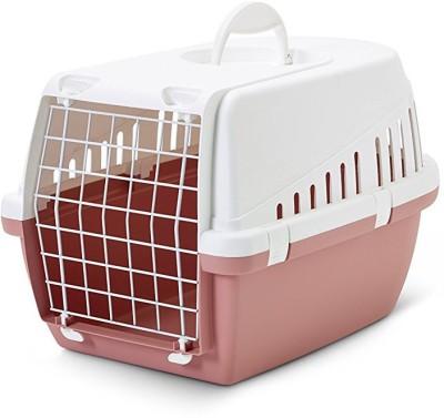 Savic Trotter Retro Pink Basket Pet Carrier(Suitable For Dog, Cat)