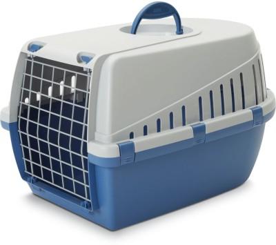 Savic Atlantic blue Basket Pet Carrier(Suitable For Dog)