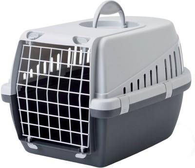 Savic Dark Grey Basket Pet Carrier(Suitable For Dog, Cat)