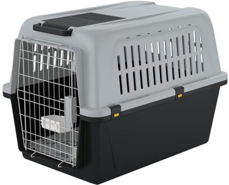 Ferplast Atlas 60 Large Grey, Black Airline Pet Carrier(Suitable For Dog)