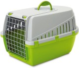 Savic Lemon Green Basket Pet Carrier (Su...