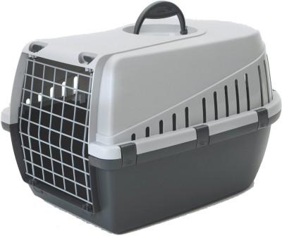 Savic Dark Grey Basket Pet Carrier(Suitable For Dog)