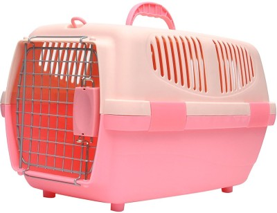 Hawai Pink, Beige Airline Pet Carrier