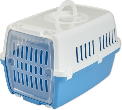 Savic Atlantic Blue Basket Pet Carrier(Suitable For Dog, Cat)