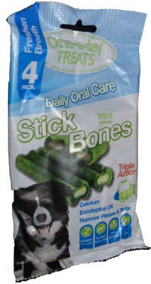 One-a-day TREATS Vegitarian Mint Dog Chew