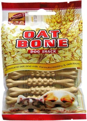 Gnawlers Oat Bone Dog Chew(55 g, Pack of 1)