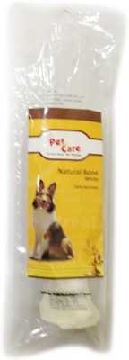 Petencare Bleached Bone 1X1 Beef Dog Chew