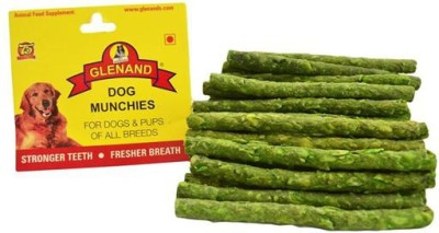 Glenand GLENAND DOG MUNCHIES 250G MINT( Pack Of 3) Mint Dog Chew(250 g, Pack of 3)