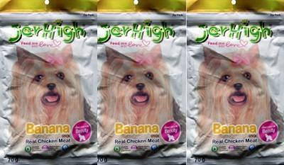 Jerhigh Banana Chicken Dog Chew